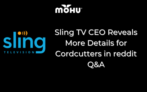 Sling TV CEO Reveals More Details for Cordcutters in reddit Q&A, Mohu and Sling Logo