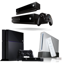 Use your gaming console to cut the cord, photos of different gaming consoles