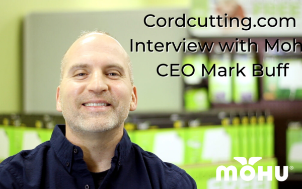 Photo of Mohu CEO Mark Buff, Cordcutting.com Interview with Mohu CEO Mark Buff