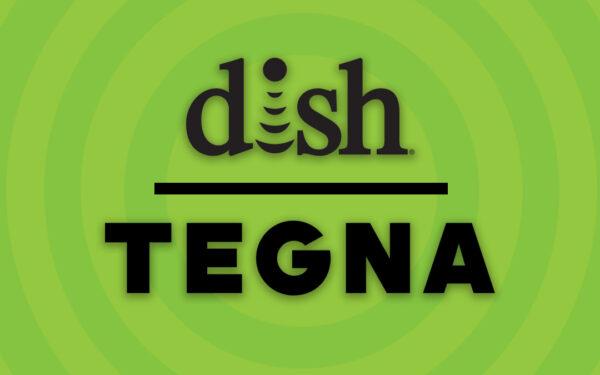 Dish Network and Tegna Logos, Carriage dispute