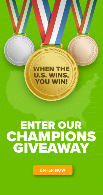 Enter our Champions Giveaway! Enter Now >