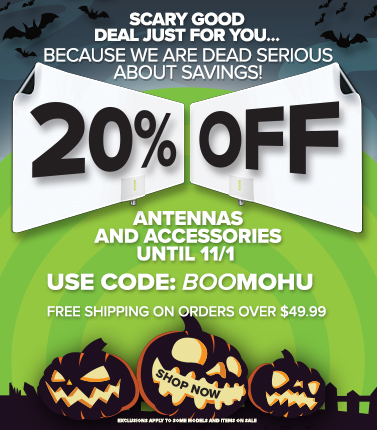 We are DEAD SERIOUS about savings! 20% off until 11/1! Use code BOOMOHU at checkout. Shop Now!