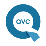 logo for QVC channel